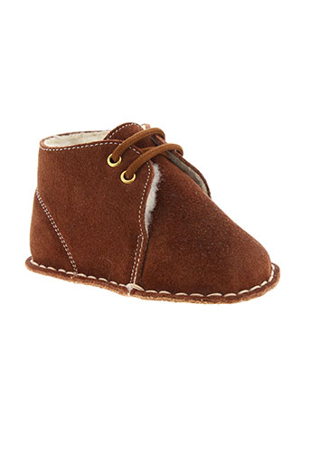 baby chick chaussures garçon de couleur marron