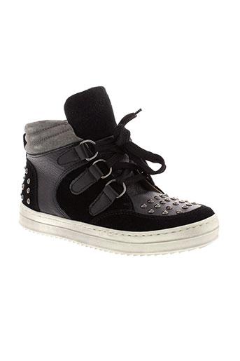 ninette en fleur chaussures homme de couleur noir