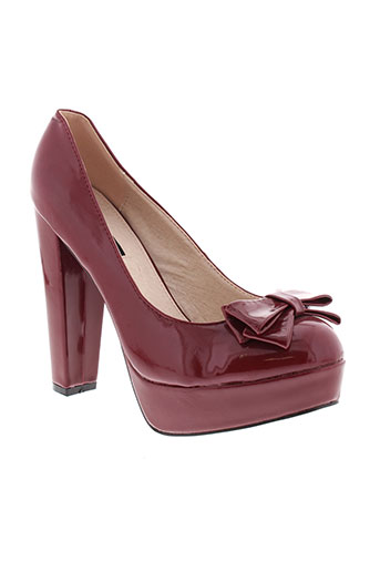 arian chaussures femme de couleur rouge