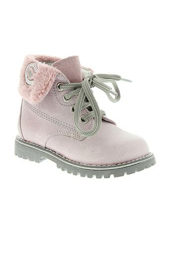 ciao et bimbi boots fille de couleur rose