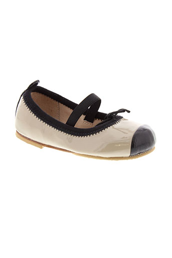 bloch ballerines fille de couleur beige