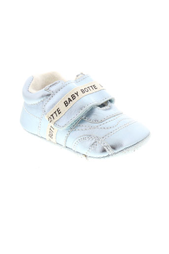 babybotte chaussons garcon de couleur bleu