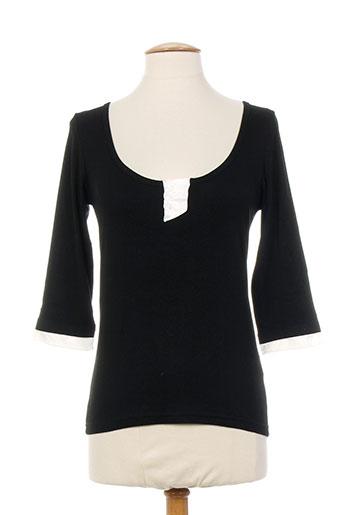 entracte t-shirts femme de couleur noir