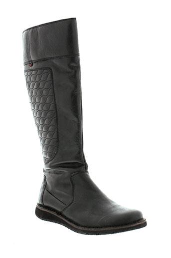 tbs bottes femme de couleur noir