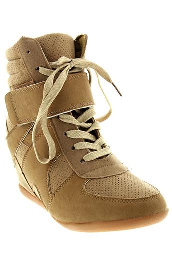 ma-eva chaussures femme de couleur beige