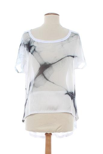 glüen chemises femme de couleur blanc