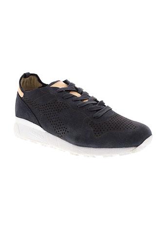 diadora heritage chaussures homme de couleur bleu