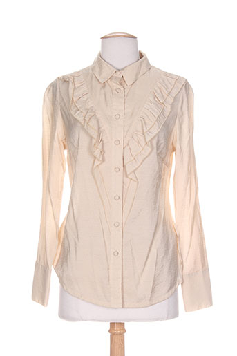 daniel amaury chemises femme de couleur beige