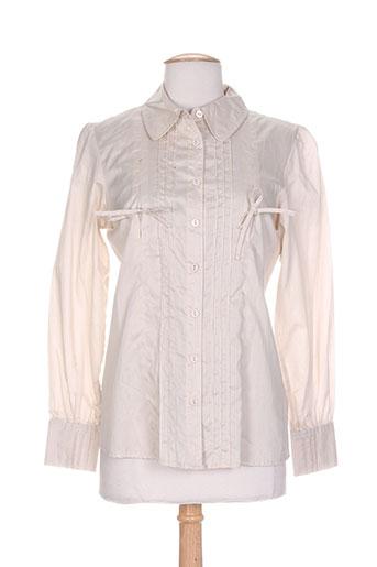 daniel amaury chemises femme de couleur gris