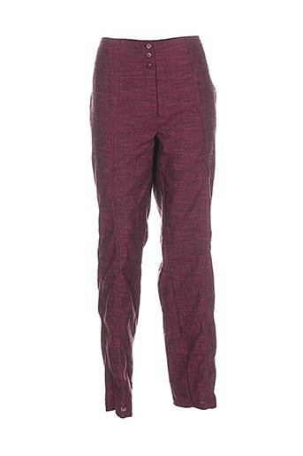 quattro pantalons femme de couleur rouge