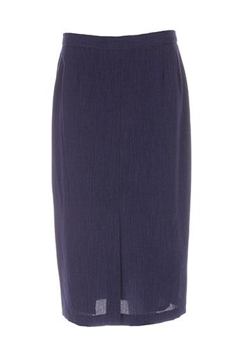charles lorens jupes femme de couleur bleu