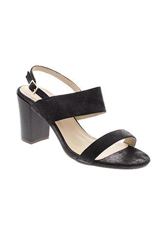 r et and et be sandales et nu et pieds femme de couleur noir