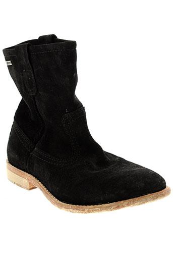 bee et fly boots femme de couleur noir