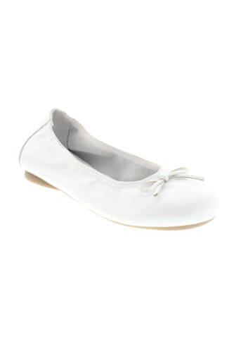 reqins ballerines fille de couleur blanc