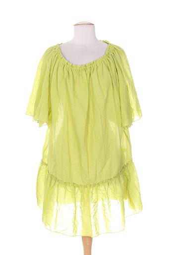 kakie tuniques femme de couleur vert