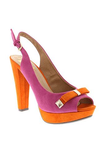 xti sandales et nu et pieds femme de couleur rose