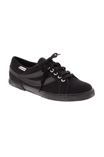 superga chaussures femme de couleur noir