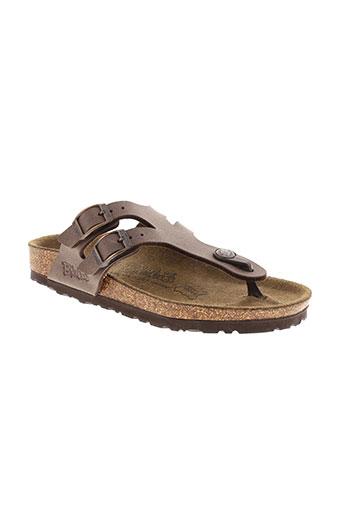 birki's chaussures fille de couleur marron