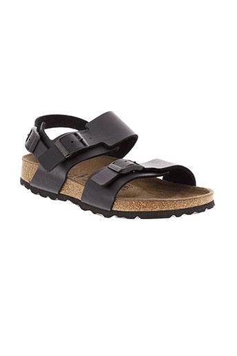 betula sandales et nu et pieds fille de couleur noir