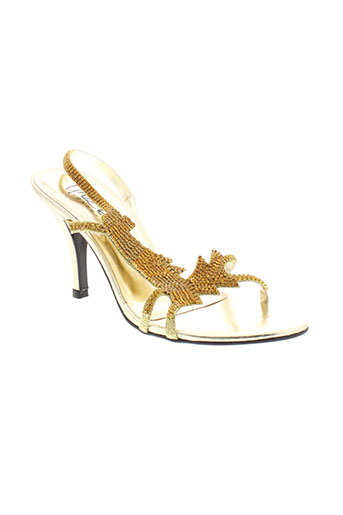 unze london chaussures femme de couleur jaune