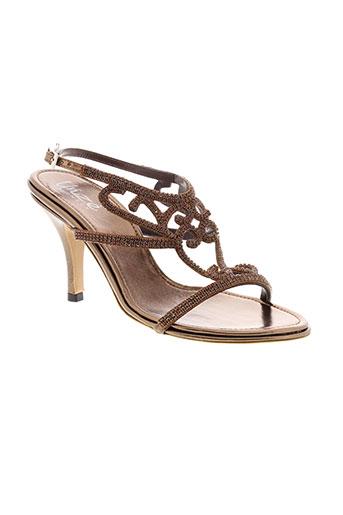 unze london chaussures femme de couleur marron