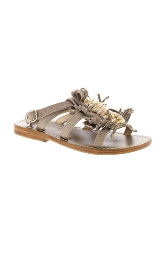 oca-loca chaussures fille de couleur marron