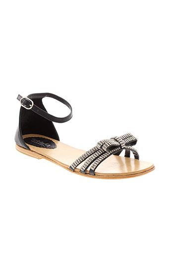 oca-loca chaussures fille de couleur noir