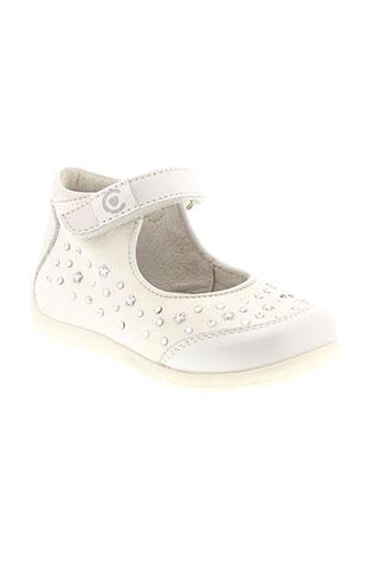 ciao bimbi chaussures fille de couleur blanc