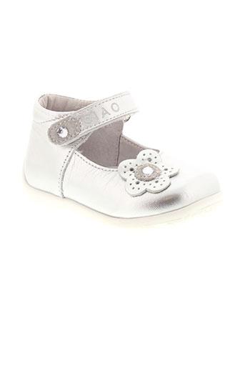 ciao bimbi chaussures fille de couleur gris