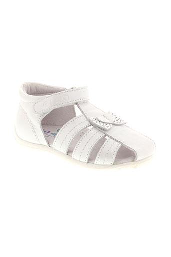 ciao et bimbi sandales et nu et pieds fille de couleur blanc