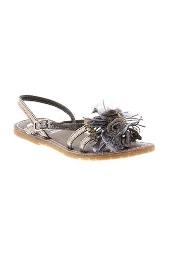 gioseppo et kids sandales et nu et pieds fille de couleur gris