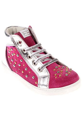 eb chaussures fille de couleur rose