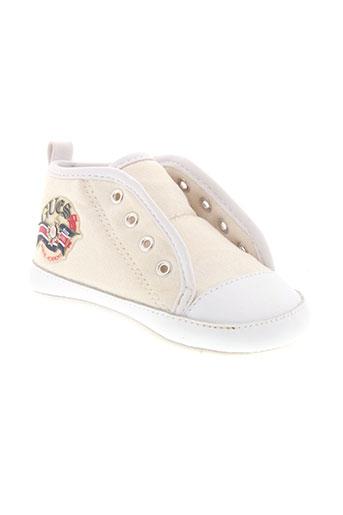 guess chaussures enfant de couleur beige