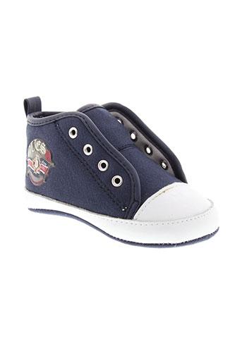 guess chaussures enfant de couleur bleu