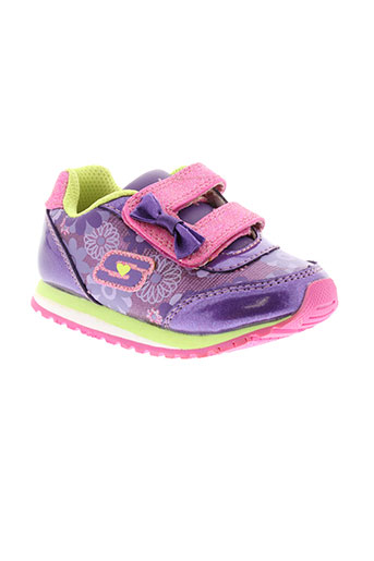 skechers baskets fille de couleur violet