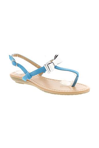 cassis chaussures femme de couleur bleu