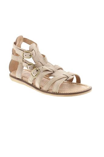 romagnoli sandales et nu et pieds femme de couleur beige