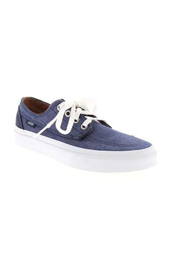 vans chaussures unisexe de couleur bleu