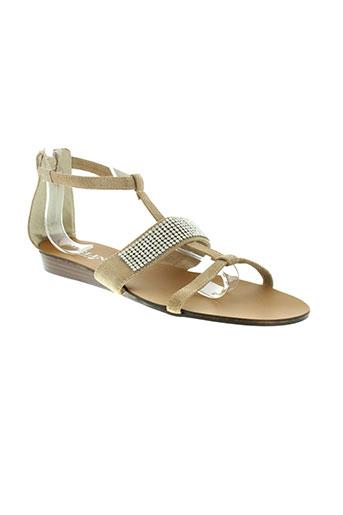 meline chaussures femme de couleur beige