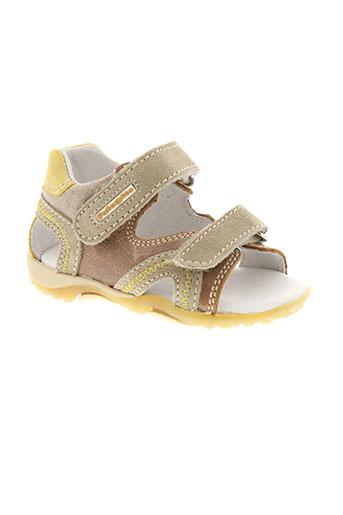 falcotto sandales et nu et pieds garcon de couleur beige