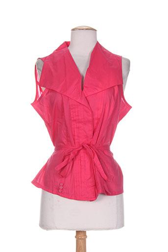 mark chemises femme de couleur rose
