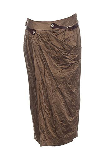 mark jupes femme de couleur marron