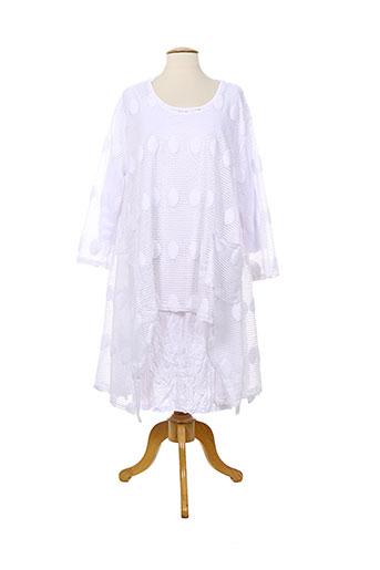 neslay pulls femme de couleur blanc