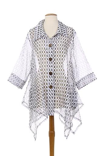 neslay vestes femme de couleur blanc
