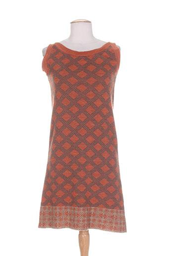 gaos robes femme de couleur orange