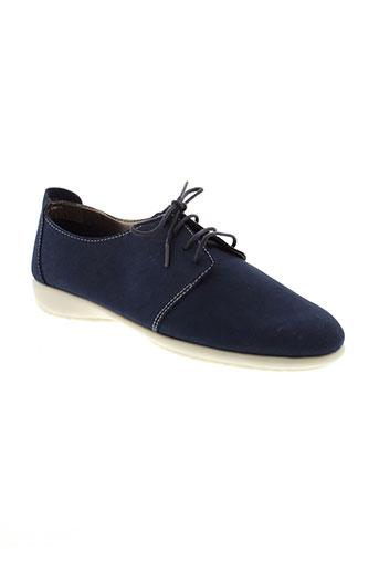 altex chaussures femme de couleur bleu