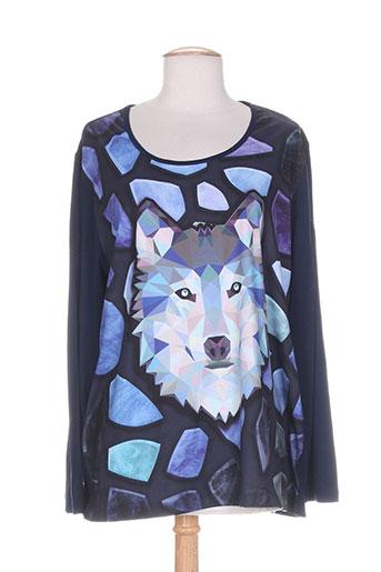 alain murati t et shirts et tops femme de couleur bleu