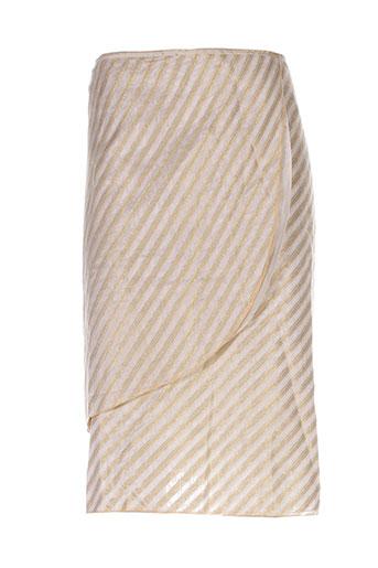 adolfo et dominguez jupes et mi et longues femme de couleur beige