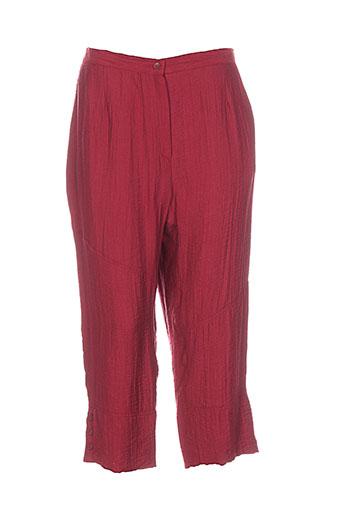 impulsion pantacourts femme de couleur rouge