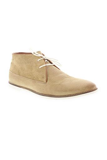 whooz chaussures homme de couleur beige